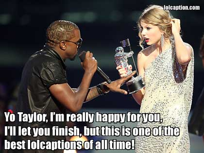 taylor swift kanye west funny